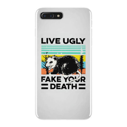 Fake Your Death Iphone 7 Plus Case Designed By Pinkanzee
