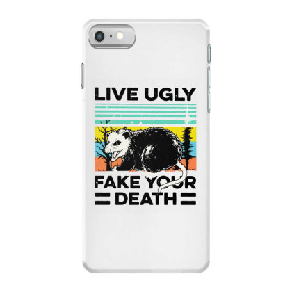 Fake Your Death Iphone 7 Case Designed By Pinkanzee