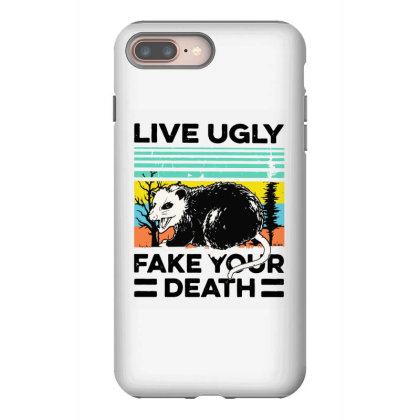 Fake Your Death Iphone 8 Plus Case Designed By Pinkanzee