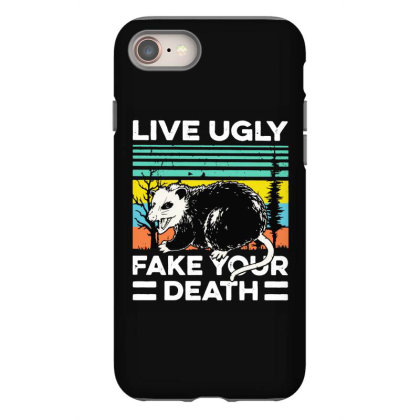 Fake Your Death Iphone 8 Case Designed By Pinkanzee