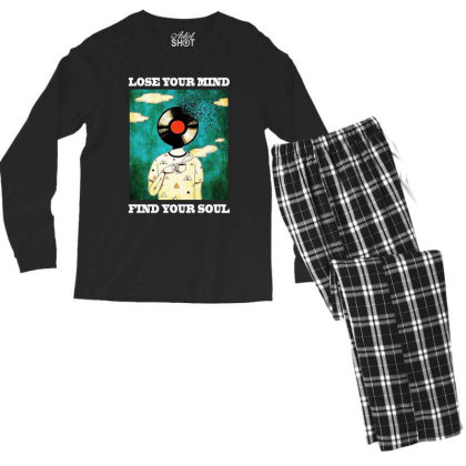 Find Your Soul Men's Long Sleeve Pajama Set Designed By Pinkanzee