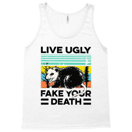 Fake Your Death Tank Top Designed By Pinkanzee