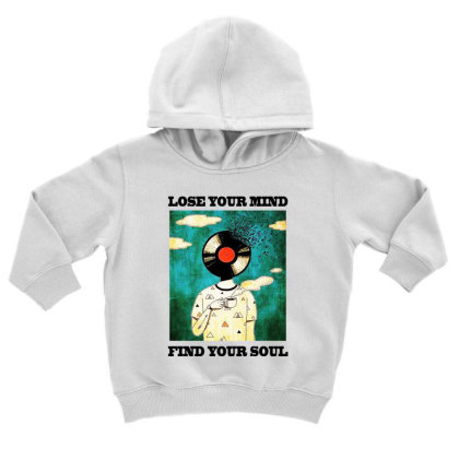 Find Your Soul Toddler Hoodie Designed By Pinkanzee