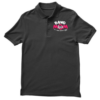 Mom Music Men's Polo Shirt Designed By Pinkanzee