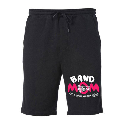 Mom Music Fleece Short Designed By Pinkanzee