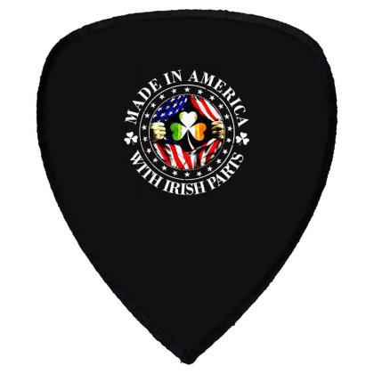 America Irish Shield S Patch Designed By Pinkanzee