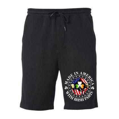 America Irish Fleece Short Designed By Pinkanzee