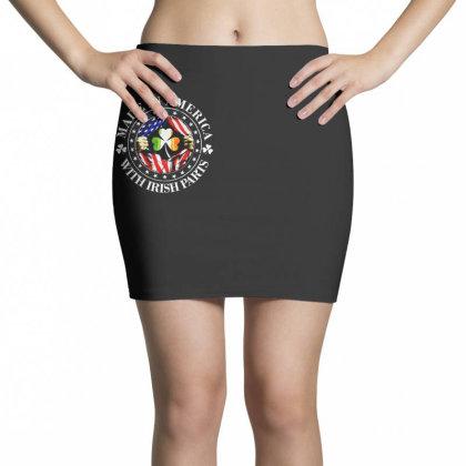America Irish Mini Skirts Designed By Pinkanzee