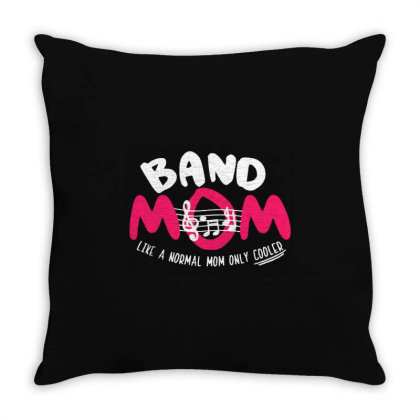 Mom Music Throw Pillow Designed By Pinkanzee