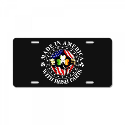 America Irish License Plate Designed By Pinkanzee
