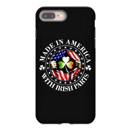 America Irish Iphone 8 Plus Case Designed By Pinkanzee