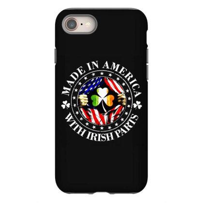 America Irish Iphone 8 Case Designed By Pinkanzee