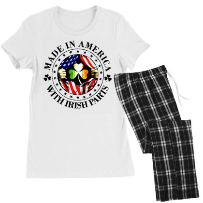 America Irish Women's Pajamas Set Designed By Pinkanzee