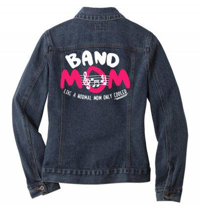 Mom Music Ladies Denim Jacket Designed By Pinkanzee