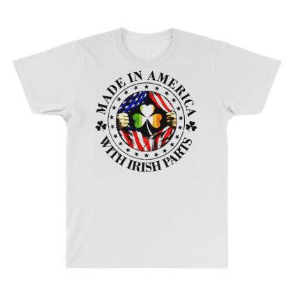 America Irish All Over Men's T-shirt Designed By Pinkanzee