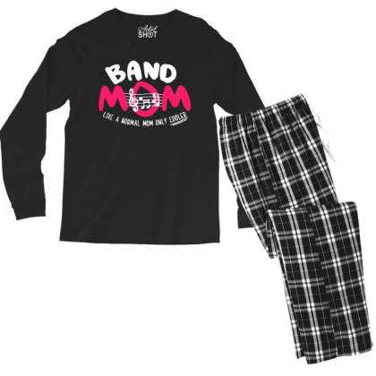 Mom Music Men's Long Sleeve Pajama Set Designed By Pinkanzee
