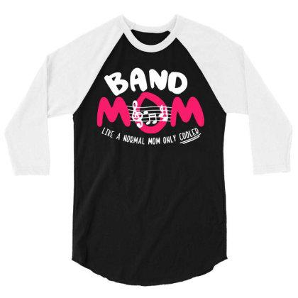 Mom Music 3/4 Sleeve Shirt Designed By Pinkanzee