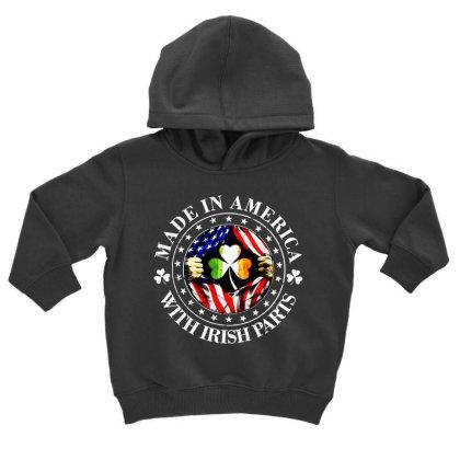 America Irish Toddler Hoodie Designed By Pinkanzee