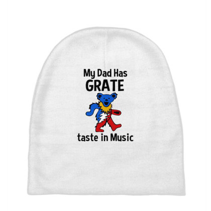 My Dad In Music Baby Beanies Designed By Pinkanzee