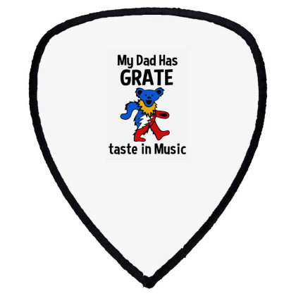 My Dad In Music Shield S Patch Designed By Pinkanzee
