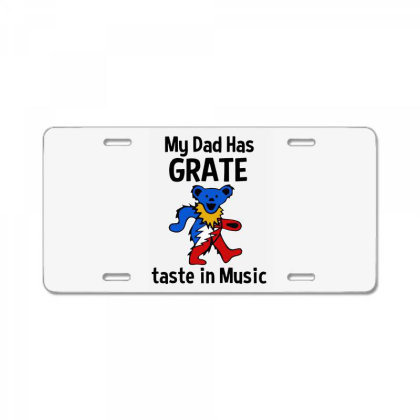 My Dad In Music License Plate Designed By Pinkanzee