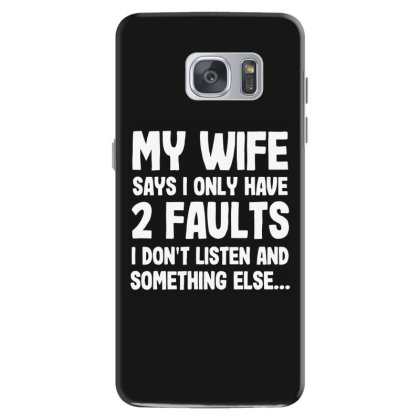 My Wife Typography Samsung Galaxy S7 Case Designed By Pinkanzee