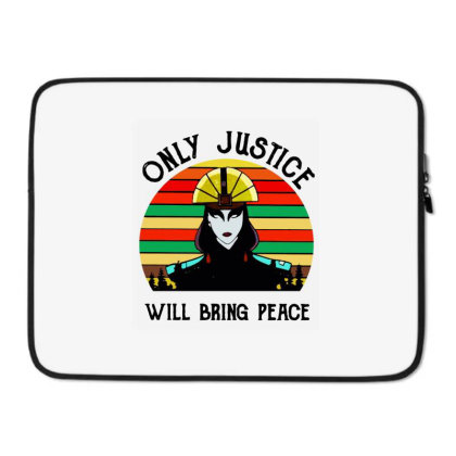 Peace Vintage Laptop Sleeve Designed By Pinkanzee