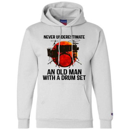 Never Underestimate A Drum Champion Hoodie Designed By Pinkanzee
