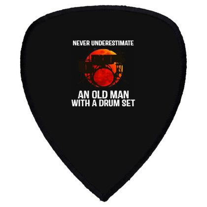 Never Underestimate A Drum Shield S Patch Designed By Pinkanzee