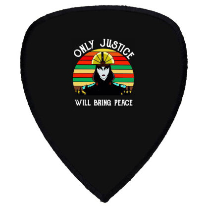 Peace Vintage Shield S Patch Designed By Pinkanzee