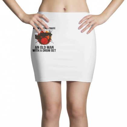Never Underestimate A Drum Mini Skirts Designed By Pinkanzee