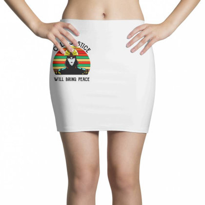 Peace Vintage Mini Skirts Designed By Pinkanzee