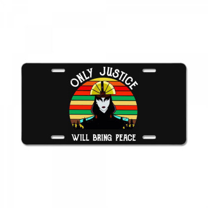Peace Vintage License Plate Designed By Pinkanzee