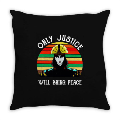 Peace Vintage Throw Pillow Designed By Pinkanzee