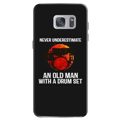 Never Underestimate A Drum Samsung Galaxy S7 Case Designed By Pinkanzee