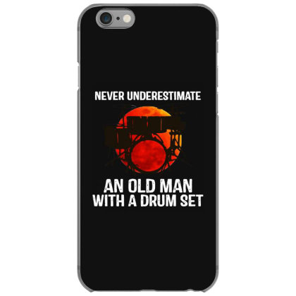 Never Underestimate A Drum Iphone 6/6s Case Designed By Pinkanzee