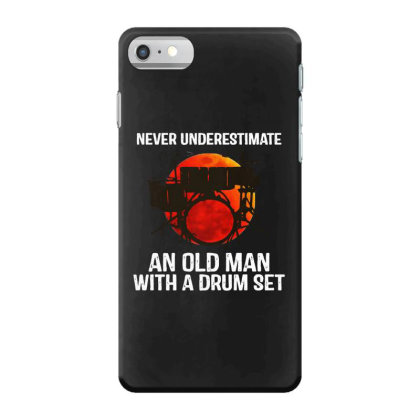 Never Underestimate A Drum Iphone 7 Case Designed By Pinkanzee