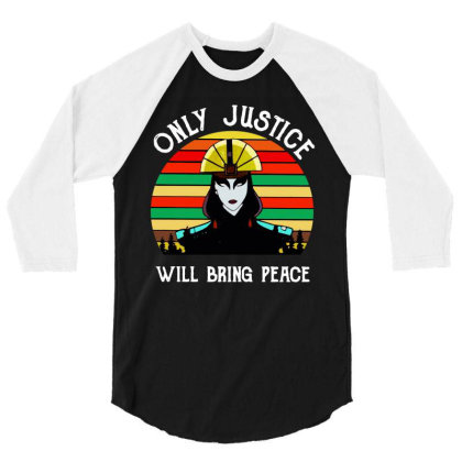 Peace Vintage 3/4 Sleeve Shirt Designed By Pinkanzee