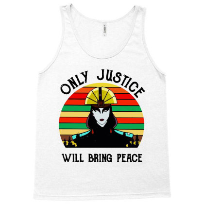 Peace Vintage Tank Top Designed By Pinkanzee