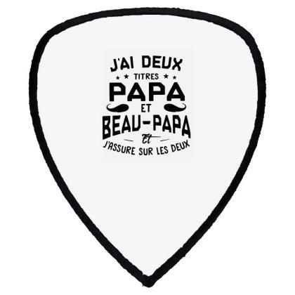 Papa Et Beau Shield S Patch Designed By Pinkanzee
