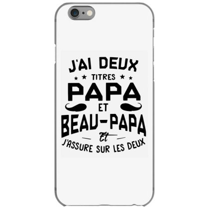Papa Et Beau Iphone 6/6s Case Designed By Pinkanzee