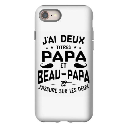 Papa Et Beau Iphone 8 Case Designed By Pinkanzee