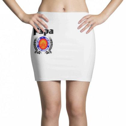 Papa Quote Mini Skirts Designed By Pinkanzee