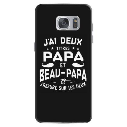 Papa Et Beau Samsung Galaxy S7 Case Designed By Pinkanzee