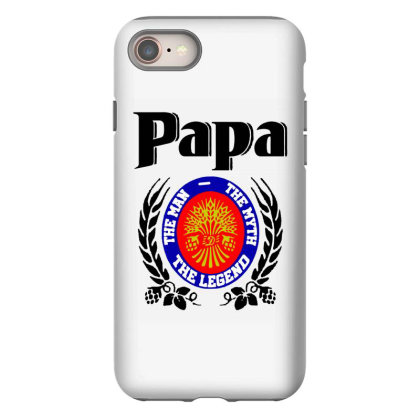 Papa Quote Iphone 8 Case Designed By Pinkanzee