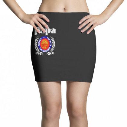 Papa The Man Mini Skirts Designed By Pinkanzee