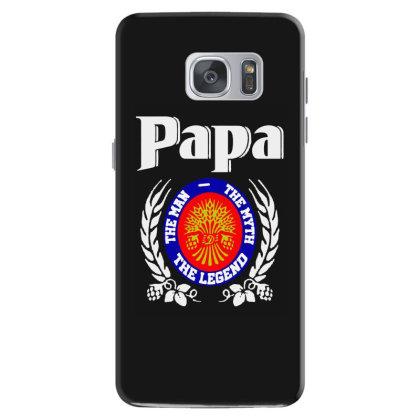 Papa The Man Samsung Galaxy S7 Case Designed By Pinkanzee