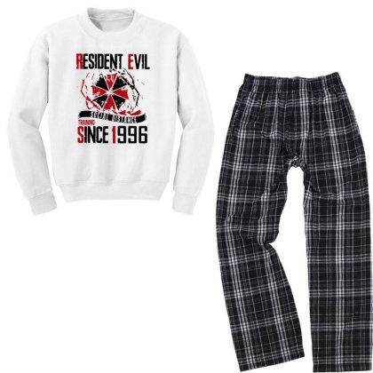 Social Distance Youth Sweatshirt Pajama Set Designed By Pinkanzee