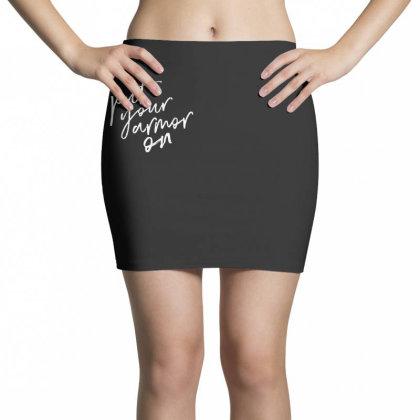 Armor On Mini Skirts Designed By Pinkanzee