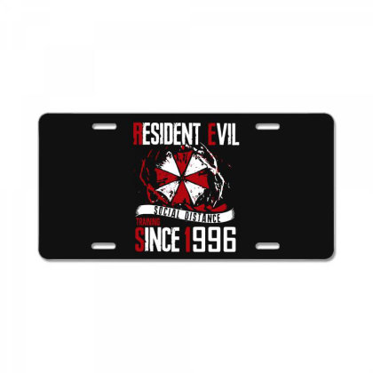 Social Distance License Plate Designed By Pinkanzee